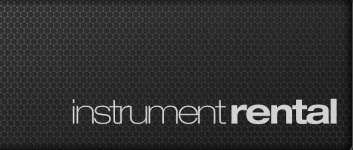 Picure of instrument rental header
